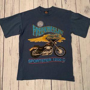 Vintage Harley Davidson sportster shirt